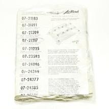 Vintage Leewards Stamped Cross Stitch Table Cloth - Ivy Splendor Pattern - $54.19