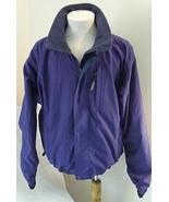 Patagonia Rain Jacket Ascensionist Softshell Mens M Purple Full Zip 83130 - $42.55