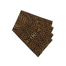 Leopard Placemats Y Leopard Print Decorative Heat Resistant Non-Slip Was... - $29.99