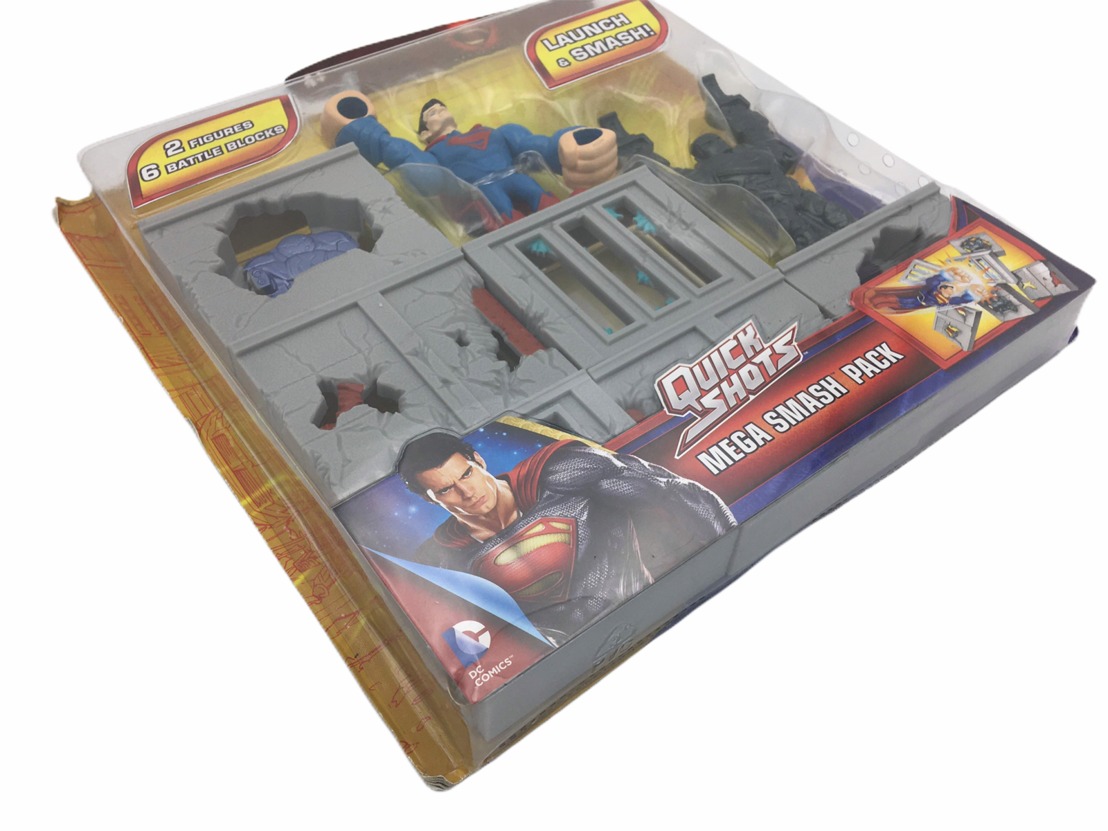 Primary image for Superman Man Of Steel Quick Shots Mega Smash Pack Playset