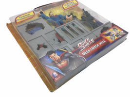 Superman Man Of Steel Quick Shots Mega Smash Pack Playset - $20.98