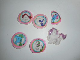 Vintage 80s G1 MLP My Little Pony Stickers - $14.99