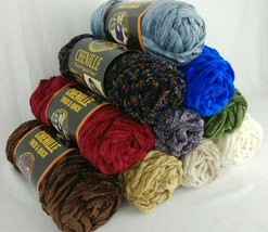 Lion Brand Thick & Quick Chenille Yarn 15 Colors Prints Super Bulky HTF ... - $4.95+