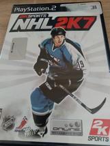 Sony PS2 NHL 2K7 image 1
