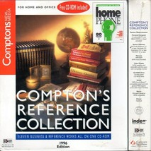 Compton's Reference Collection '96 + BONUS! CD-ROM for Windows - NEW in BOX - $5.98