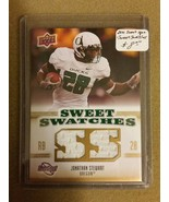 2010 Sweet Spot Sweet Swatches #SSW40 Jonathan Stewart : Oregon Ducks - $4.99