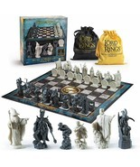 LOTR Chess Set: Battle for Middle-Earth Officially Licensed NIB/Sealed - $59.39