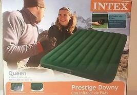 Intex Doppio Prestige Letto ad Aria da Esterno Campeggio Soffice Gonfiabile - $51.48 CAD