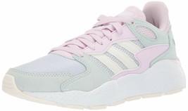 adidas Women's Chaos Sneaker 10.5 Aero Blue/Cloud White/Ice Mint - $66.90
