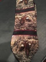 Bald Eagle Silk Tie October Flight by Steven Lymen Bird Necktie Made in USA - $14.84