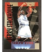 1995-96 Classic Rookies Showtime #S3 Jerry Stackhouse Rookie Basketball ... - $1.24