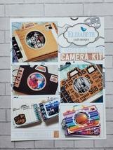 Camera Die Set. Elizabeth Craft Designs. Mini Album  image 5