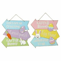 Stacked Directional Easter Wall Signs - $9.89