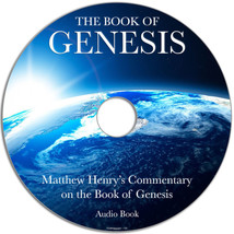 Matthew Henry's Commentary on the Book of Genesis Audio MP3 DVD Disk Bib... - $6.76