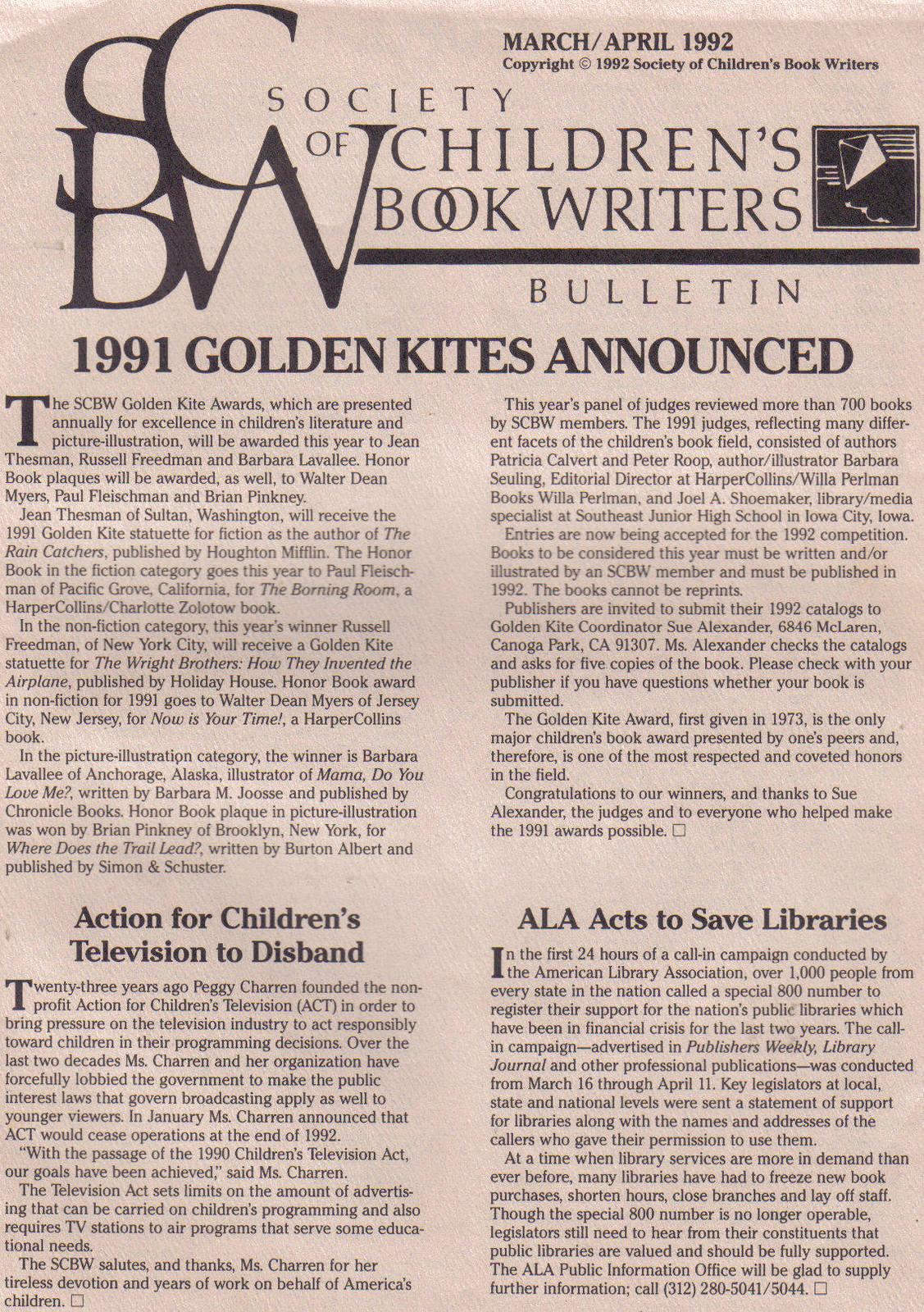 (7) SOCIETY OF CHILDREN'S BOOK WRITERS & ILLUSTRATORS image 11