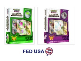 POKEMON Mythical Shaymin + Mew Mythical Collection Pin Box Generations P... - $47.50