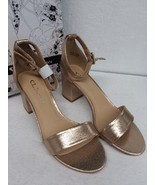 CL by Chinese Laundry Women's Jody Block Heel Dress Sandal Light Gold Si... - $58.11