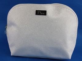 Authentic Dior Ivory White PVC Canvas Second Clutch Bag ACcessories Pouc... - $98.01