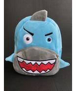 Shark Backpack NEW Preschool Daycare Bag W/ Adjustable Straps & Front Zi... - $19.99