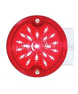 """United Pacific 31213 red Lens 21 LED 3 1/4"""" Round Harley Signal Light Wi... - $54.45"""