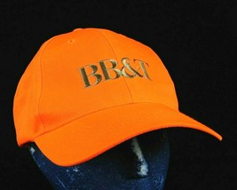 BB&T Bank Hunter Orange Baseball Cap Adjustable Strapback Box Ship - $9.99