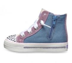 S SPORT Von Skechers Kleinkind Mädchen Rosa Raelynn Leuchtender Hohe Schuhe image 3