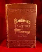 Meridiana by Jules Verne 1st  1874 Illustrated - $196.00