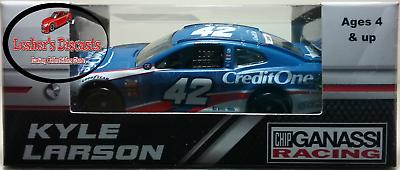 Kyle Larson 2018 #42 Credit One Stripe ZL1 Camaro 1:64 ARC  -