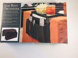 Sofa Arm Rest Organizer - Remote Control Holder Caddy New - $10.40