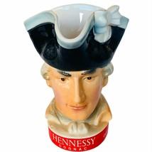Hennessy Toby Mug Cup Jug Cognac advertising vtg Fonda 1865 Captain Mais... - $72.57