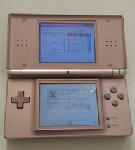Nintendo DS Lite Launch Edition Metallic Rose Handheld System - $33.63