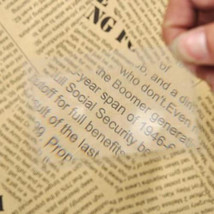 2 Reading Magnifier 3x Magnifying Fresnel Lens Credit Card Size NEW - $5.89