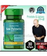 Standardized SAW PALMETTO 320mg Prostate Urinary Bladder Supplement 30 S... - $15.83