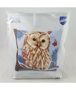 Vervaco Winter Owl Cross Stitch Kit DIY Craft Kit NEW - £28.79 GBP