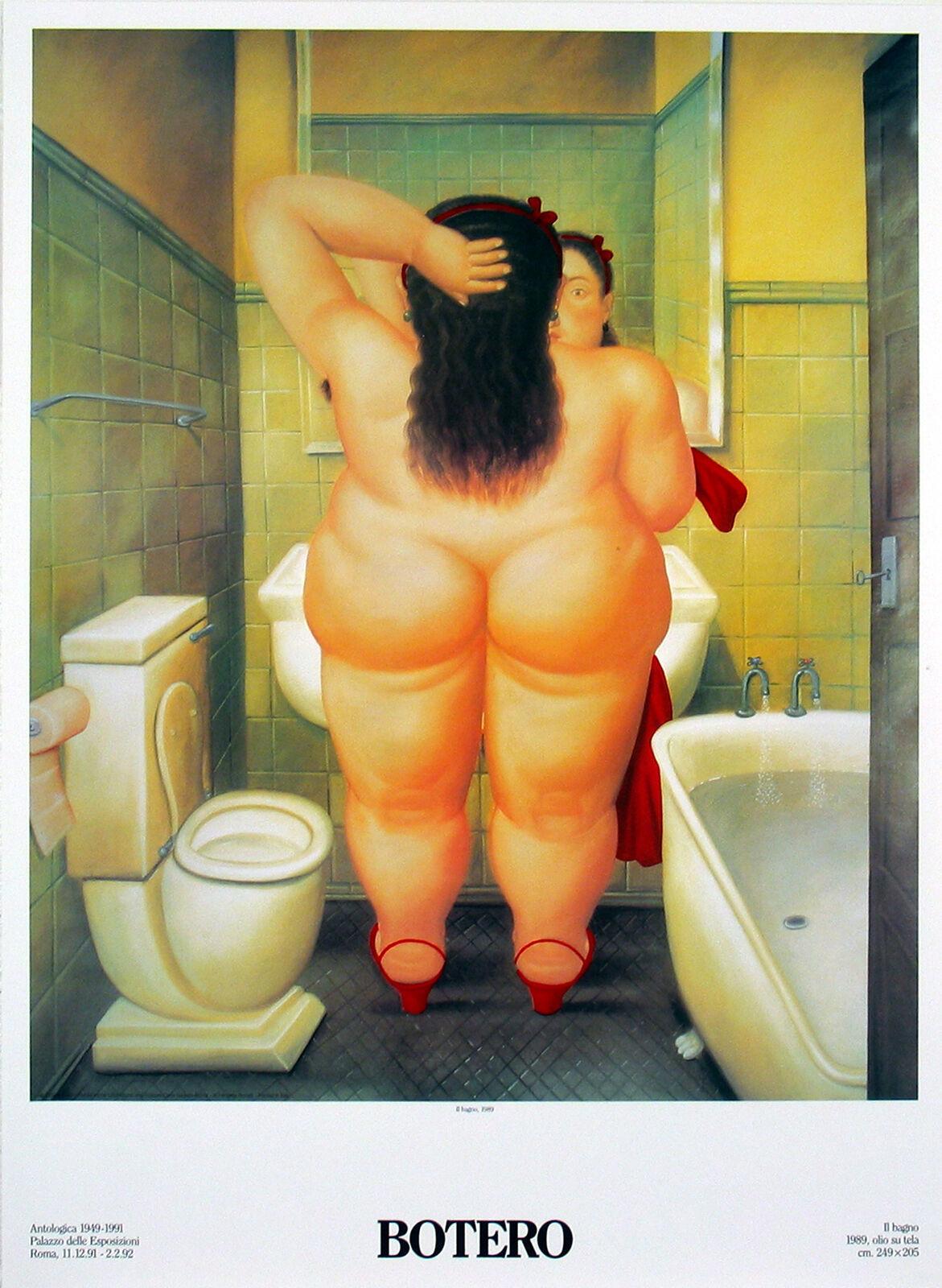 Fernando Botero-The Bath (Il Bano)-Poster
