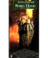 Robin Hood Prince Of Thieves - Kevin Costner (VHS Movie) - $3.50