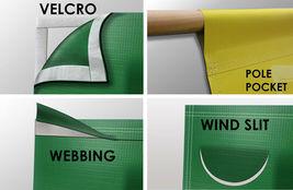 Jet Tools Equipment Vinyl Banner 2'x4' Garage or trade shows Ready Hang 13 OZ. image 4