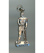 Vintage advertising premium charm for ARMCO man tongs tool - $9.00