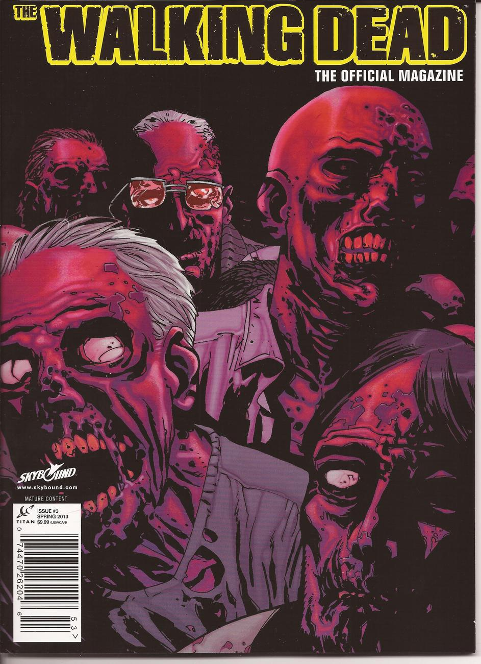 Walking Dead Magazine #3 Variant & Newstand Editions Dixon Brothers R Kirkman