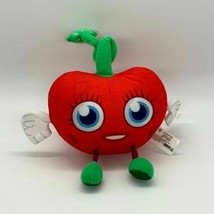 "6"" Spin Master Moshi Monsters Stuffed Plush Series Luvli Red Heart Strawberry - $7.08"