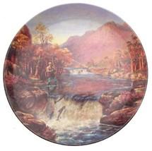 Danbury Mint The Salmon Leap Gone Fishing plate Graham Twyford - CP1682 - $36.95