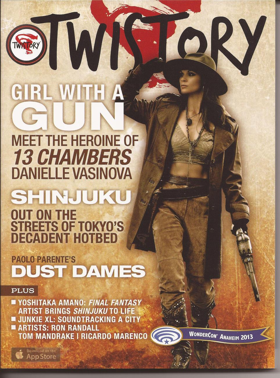 WonderCon 2013 Twistory Magazine #1 Exclusive Edition 13 Chambers Dust Dames