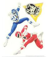 POWER RANGERS Glow in the Dark 11 Stickers - $9.98
