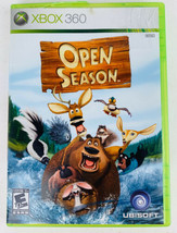 Open Season (Microsoft Xbox 360, 2006) Complete With Manual- Tested Working - $10.88
