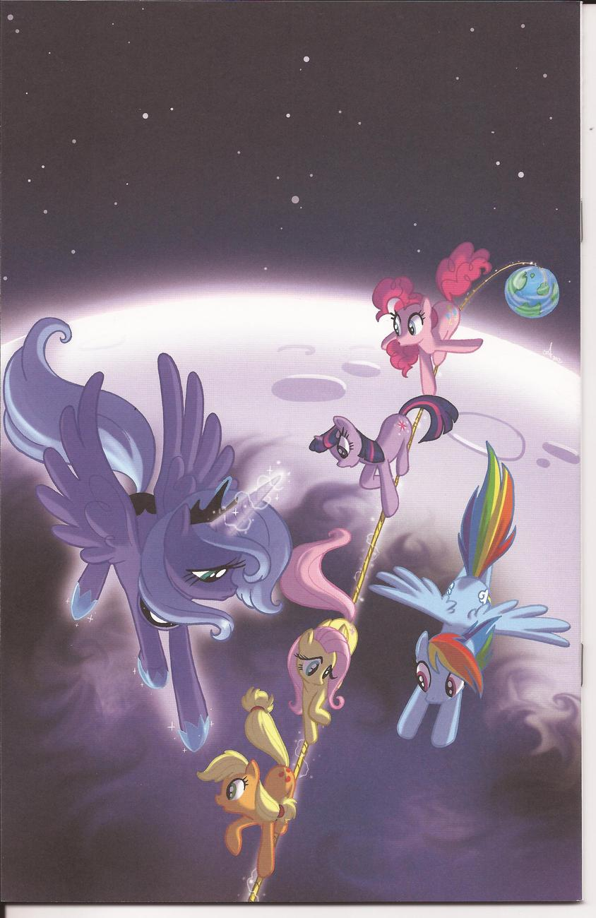 WonderCon 2013 My Little Pony Friendship Is Magic #6 Exclusive Sketch Variant Ed