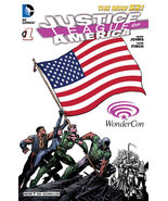 WonderCon 2013 Justice League Of America #1 Exclusive Variant Cover The ... - $29.95