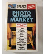 1982 Photographer's Market Robert D Lutz, Writer's Digest Hardback - $3.00