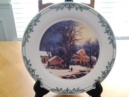 Currier & Ives 2001 Museum of the City of New York Thomas Series salad p... - $6.95
