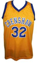 Monica Wright #32 Crenshaw Love And Basketball Jersey New Sewn Yellow Any Size image 4