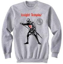 KNIGHT TEMPLAR 33 - NEW COTTON GREY SWEATSHIRT - $31.88